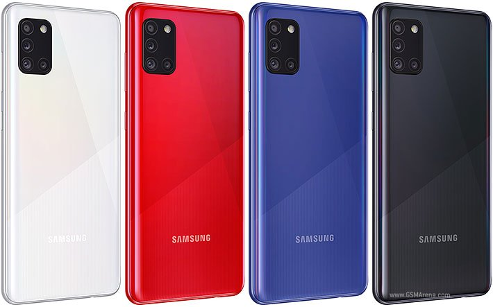 Samsung Galaxy A31 Colors